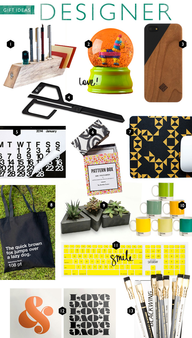 Gifts For Graphic Interior Industrial Designers