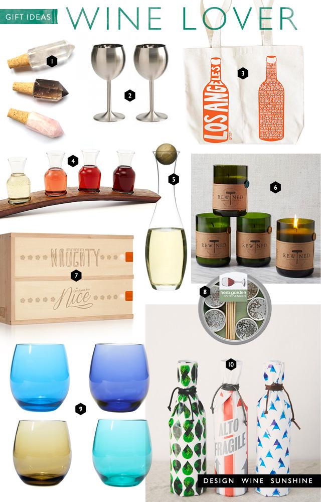 Gift Ideas For Wine Lovers Design Wine Sunshine