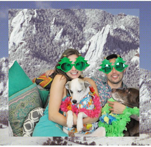 Design Wine Sunshine's 2013 Holiday Card - Mele Kalikimaka from Colorado
