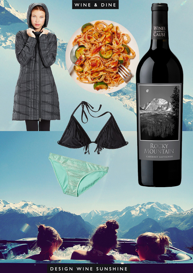 Rocky Mountain Cabernet : Wine & Dine : Design Wine Sunshine